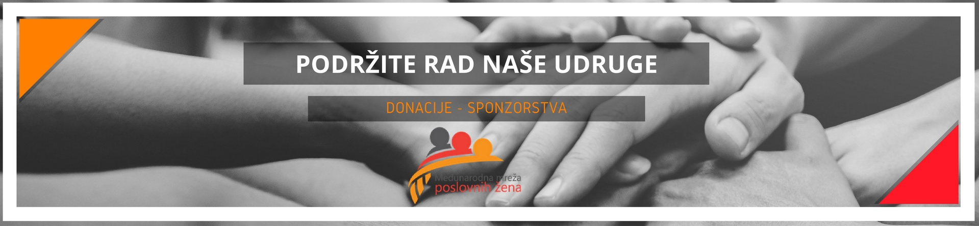 Međunarodna mreža poslovnih žena - donacije i sponzorstva