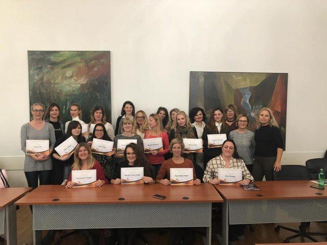 Mala škola poduzetništva za žene - završen osnovni modul