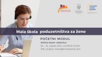 Mala škola poduzetništva za žene - Početni modul