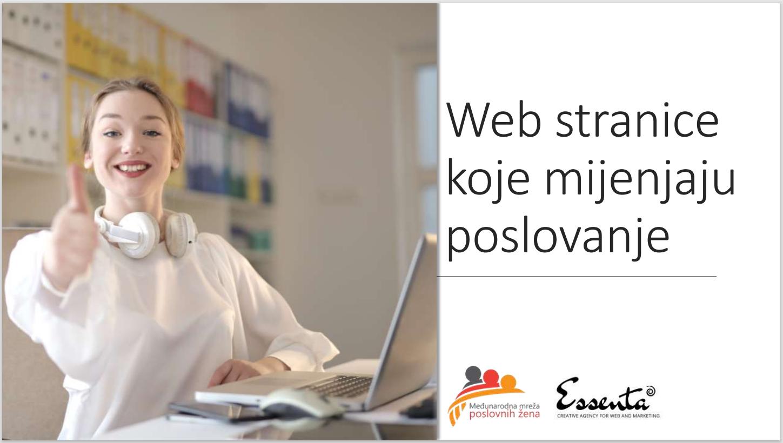 Web stranice koje mijenjaju poslovanje