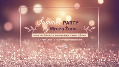 Međunarodna mreža poslovnih žena - Summer party 2021